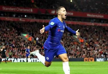Eden Hazard. Facebook Chelsea