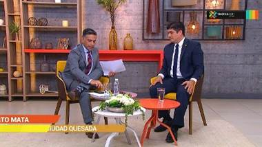 Presidente Alvarado respondió preguntas de televidentes de Buen Día sobre plan fiscal