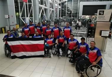 Selección Nacional de baloncesto en silla de ruedas. CON