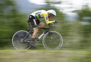 El ciclista australiano Rohan Dennis  AFP.