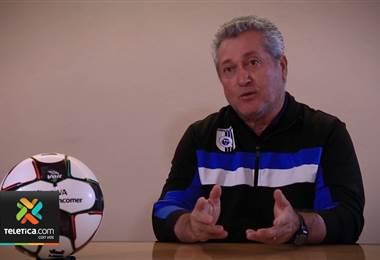 Víctor Manuel Vucetich no ocultó el interés de dirigir la selección de Costa Rica