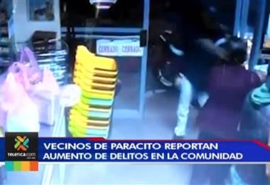 Vecinos de Paracito de Santo Domingo de Heredia reportan aumento de delitos en la comunidad