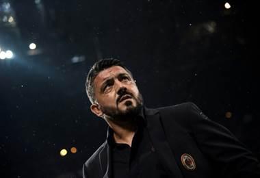 Gennaro Gattuso del Milan. AFP