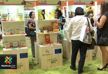 Empresas de agricultura e industria alimentaria ofrecieron productos en feria de negocios