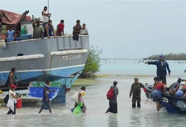 Indígenas miskitos del Caribe nicaragüense  AFP.