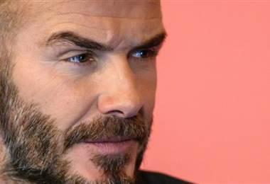 David Beckham. AFP