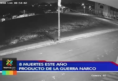 OIJ contabiliza 8 muertos por guerra narco que se desató en algunos barrios de Alajuela