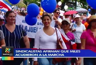 Bloqueos, marchas y más declaratorias de ilegalidad: así está la huelga tras 17 días de lucha