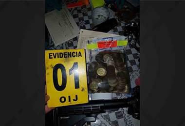 Operativo antidrogas en Alajuela deja detenidos y decomisos de dinero