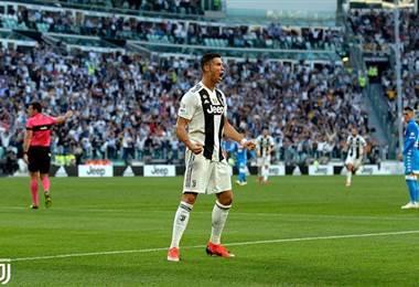El atacante portugués de la Juventus, Cristiano Ronaldo.