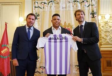 Ronaldo Nazario compró el 51% de las acciones del Real Valladolid.