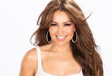 Thalia, cantante mexicana.