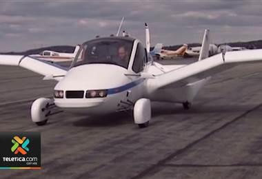 Primer carro volador del mundo ya es una realidad y empezará a venderse en octubre