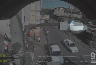 Video muestra violento accidente de carro en Honduras