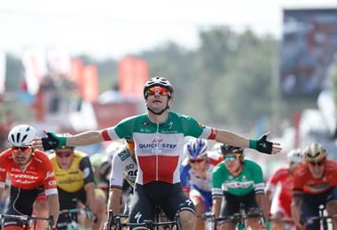 El italiano Elia Viviani (Quick Step) |Facebook La Vuelta.