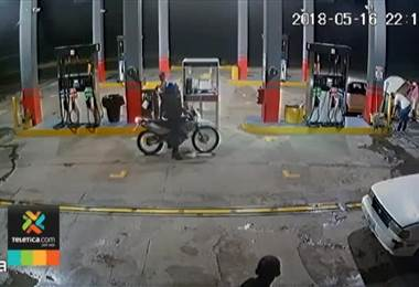 Diferentes grupos cometen violentos asaltos en comercios y estaciones de servicio en Nicoya