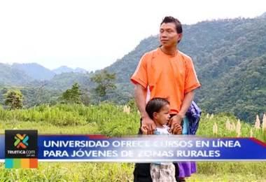 Universidad ofrece cursos en línea para jóvenes de zonas rurales