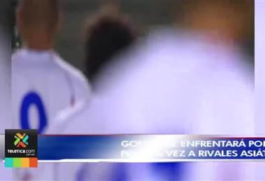Rónald González enfrentará por primera vez a rivales asiáticos