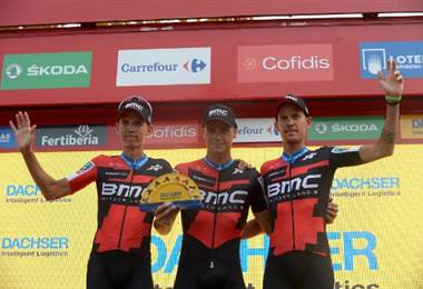 Alessandro de Marchi, Vuelta a España. AFP