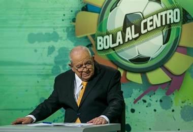 Javier Rojas durante el programa Bola al Centro de TD Más. |Foto cortesía TD Más