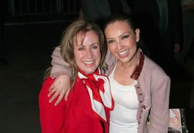Thalía y Laura Zapata.