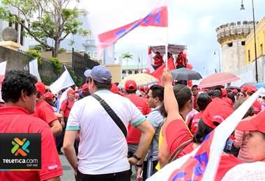 Sindicatos mantienen en pie la huelga anunciada para el próximo lunes 10 de setiembre