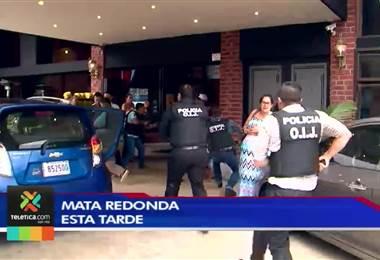 Interpol capturó hoy a la salida de un restaurante a un peligroso narco requerido por EE. UU.