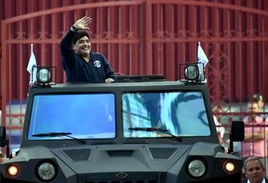 Diego Armando Maradona |AFP.