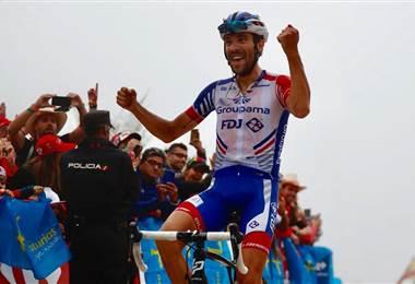 El ciclista francés Thibaut Pinot (FDJ).
