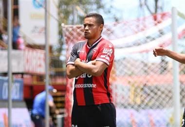 El delantero hondureño de Alajuelense, Roger Rojas.