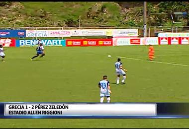 Fútbol Nacional: Grecia 1 - 2 Pérez Zeledón
