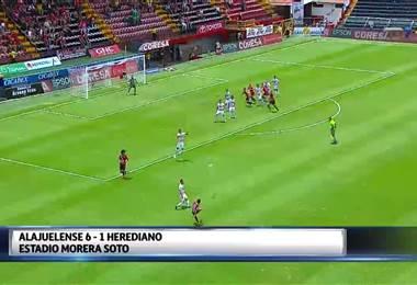 Fútbol Nacional: Alajuelense 6 - 1 Herediano