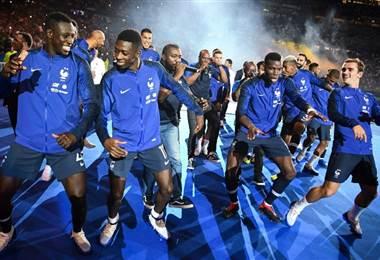 Jugadores de la Selección de Francia |AFP.