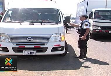 Mal estacionamiento y consumo de alcohol serán conductas más vigiladas por el Tránsito en Palmares