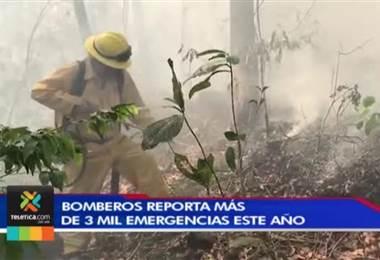 En las dos primeras semanas del año hubo más de 200 emergencias para Bomberos