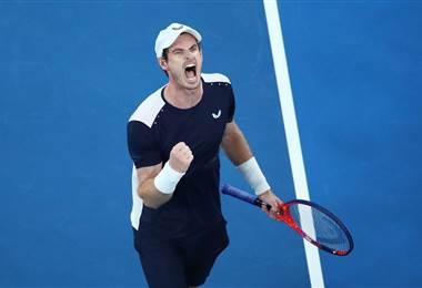 Andy Murray, tenista británico.|Australia Open en Facebook