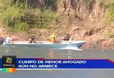 Cuerpo del joven que se ahogó el domingo en paraíso de Talamanca aún no aparece