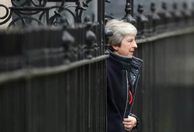 Theresa May. AFP
