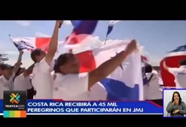 Costa Rica recibirá a 45.000 peregrinos que viajarán a Panamá para Jornada Mundial de la Juventud
