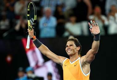 Rafael Nadal, tenista español.|Australia Open