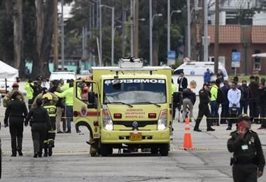 Atentado con coche bomba en Bogotá |AFP.
