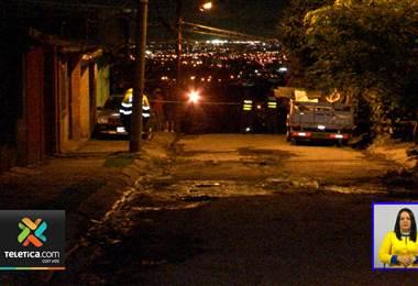 Esta madrugada de jueves asesinaron a balazos a un joven en Concepción de la Unión