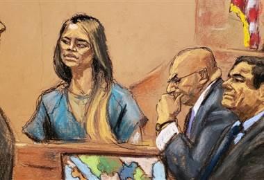 Lucía Sánchez. Juicio de 'El Chapo'. BBC Mundo.