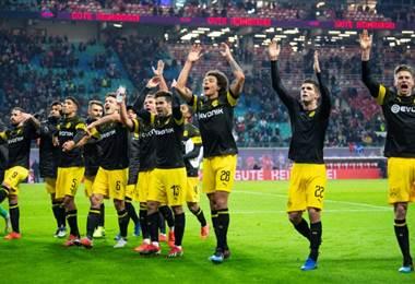 Nueva victoria del Dortmund. AFP