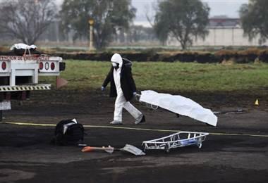 Estallido de ducto en México-AFP