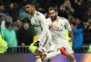 Casemiro del Real Madrid. AFP