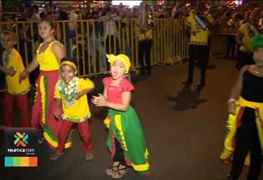 Carnaval de Palmares estuvo cargado de sabor