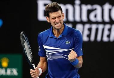 Novak Djokovic, tenista de Serbia.|Australian Open
