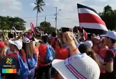 Cerca de 11.000 peregrinos han cruzado la frontera sur para vivir la JMJ