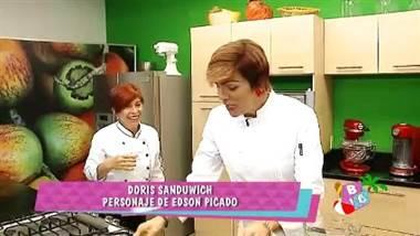 Chef Doris Goldgewicht cocinó junto a su doble